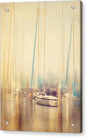 Morning Sail Acrylic Print by Amy Weiss