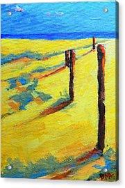 Morning Sun At The Beach Acrylic Print by Patricia Awapara