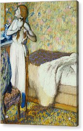 Morning Toilet Acrylic Print by Edgar Degas