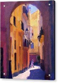 Moroccan Light Acrylic Print by Bob Galka