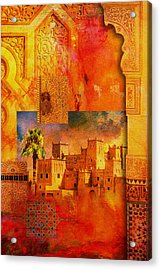 Morocco Heritage Poster 00 Acrylic Print by Catf