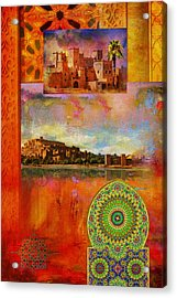 Morocco Heritage Poster Acrylic Print by Catf