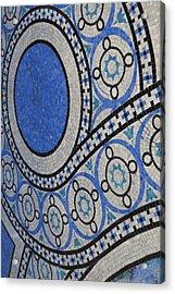 Mosaic Perspective Acrylic Print by Tony Rubino