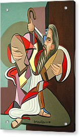 Moses Acrylic Print by Anthony Falbo