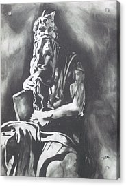 Moses Acrylic Print by Jeremy Moore
