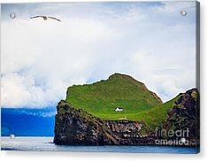 Most Peaceful House In The World Acrylic Print by Peta Thames