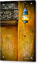Moth Light Acrylic Print by Colleen Kammerer