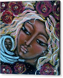 Mother Divine Acrylic Print by Maya Telford