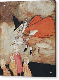 Mother Goose Acrylic Print by British Library