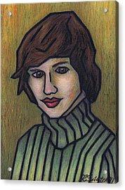 Mother Acrylic Print by Kamil Swiatek