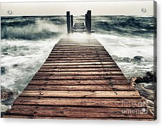 Mother Nature Acrylic Print by Stelios Kleanthous