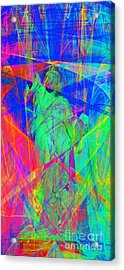 Mother Of Exiles 20130618 Long Acrylic Print by Wingsdomain Art and Photography