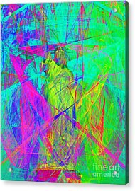 Mother Of Exiles 20130618m60 Acrylic Print by Wingsdomain Art and Photography
