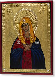 Mother Of Mercy I Acrylic Print by Ilse Wefers