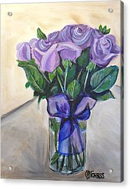 Mother's Day Roses Acrylic Print by Melissa Torres
