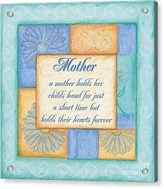 Mother's Day Spa Acrylic Print by Debbie DeWitt