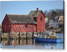 Motif Number 1 Acrylic Print by Eric Gendron