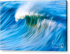 Motion Captured Acrylic Print by Paul Topp