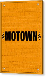 Motown Acrylic Print by Andrew Fare