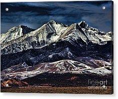 Mount Blanca Acrylic Print by Jon Burch Photography