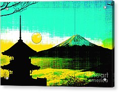Mount Fiji Acrylic Print by Celestial Images