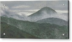Mount Judea Acrylic Print by Garry McMichael