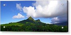 Mount Olomana Hawaii Acrylic Print by Kevin Smith