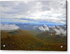 Mountain Seasons Acrylic Print by Susan Leggett