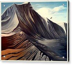 Mountain To Climb Acrylic Print by Dawson Taylor
