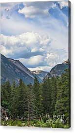 Mountain View Acrylic Print by Kay Pickens