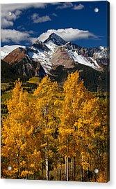Mountainous Wonders Acrylic Print by Darren  White