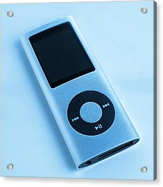 Mp3 Player Acrylic Print by Science Photo Library