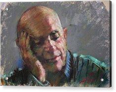 Mr Cela Acrylic Print by Ylli Haruni