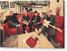 Mr. Chin's Hot Sauce  Acrylic Print by Laurie Search