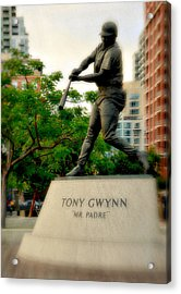 Mr. Padre- Hall Of Famer Acrylic Print by See My  Photos
