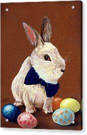 Mr. Rabbit Acrylic Print by Anastasiya Malakhova