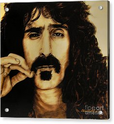 Mr Zappa Acrylic Print by Betta Artusi