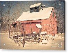 Mt. Cube Farm Old Sugar Shack Acrylic Print by Edward Fielding