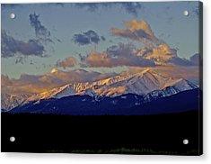 Mt Elbert Sunrise Acrylic Print by Jeremy Rhoades