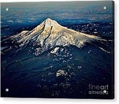 Mt Hood Acrylic Print by Jon Burch Photography