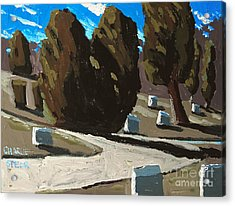 Mt Hope Acrylic Print by Charlie Spear
