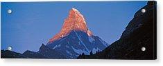 Mt Matterhorn Zermatt Switzerland Acrylic Print by Panoramic Images