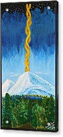 Mt. Shasta Acrylic Print by Cassie Sears