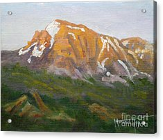 Mt. Tekarra Acrylic Print by Mohamed Hirji
