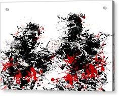 Muhammad Ali Acrylic Print by Bekim Art