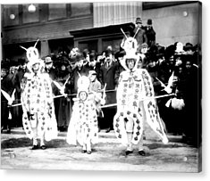 Mummers Circa 1909 Acrylic Print by Digital Reproductions