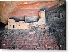 Mummy Cave Ruin Canyon Del Muerto Acrylic Print by Christine Till