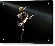Music Box - The Dance Of Hours Acrylic Print by Alessandro Della Pietra