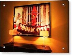 Music City Lights Acrylic Print by Dan Sproul