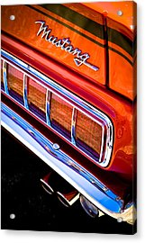 Mustang Mach 1 Acrylic Print by Phil 'motography' Clark